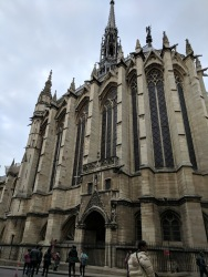 Outside of St. Chapelle