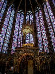 Inside of St. Chapelle